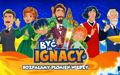 """W II edycji programu """"Być jak Ignacy. Rozpalamy płomień wiedzy."""" bierze udział ponad 600 szkół podstawowych z całej Polski!"""