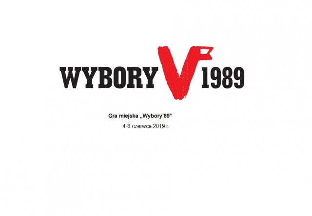 """Gra Miejska """"Wybory 89"""""""