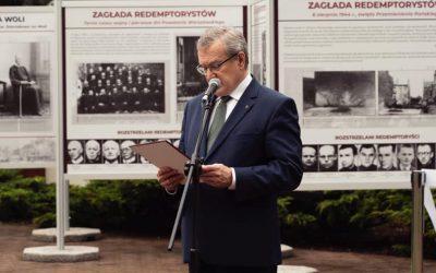 """Wystawa """"Sakramentki i redemptoryści w Powstaniu Warszawskim"""""""