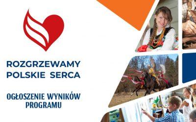 """Znamy wyniki programu grantowego """"Rozgrzewamy Polskie Serca"""""""
